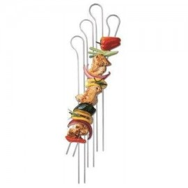 SET DE 8 BROCHETAS DOBLES